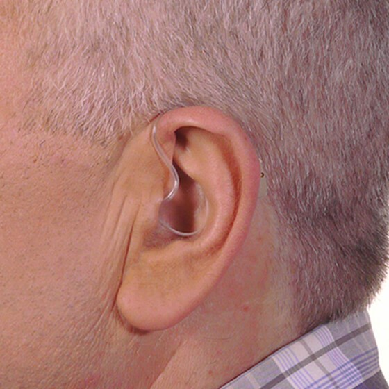 Digital Behind The Ear Hearing Aid Low Profile High Performance