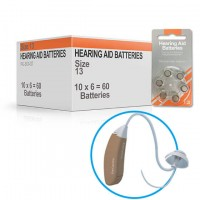 Hearing Aid Batteries for CHOICE® Hearing Aid - Size 13 (60 pcs)