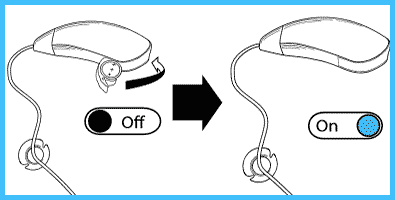 Preference settings for hearing aid